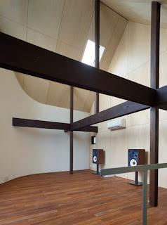 Interior de diseño en madera