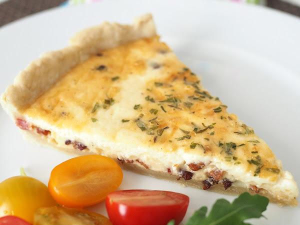 Appenzeller-pekoni quiche on pikkusuolaisten aatelia