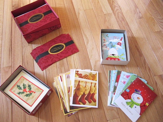 Sew Many Ways Thrifty ThursdayOld Christmas Cards Into Save