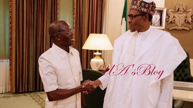 Buhari Fumes Over APC Chairman, Oshiomhole's Comment