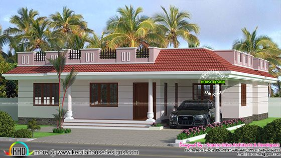 1567 sq-ft modern 4 bhk villa