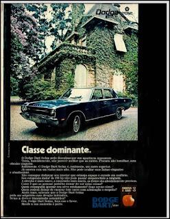 propaganda  Dodge Dart Sedan- 1971, Dodge Dart 1971, chrysler anos 70, carro antigo chrysler, anos 70, década de 70, propaganda anos 70, Oswaldo Hernandez,