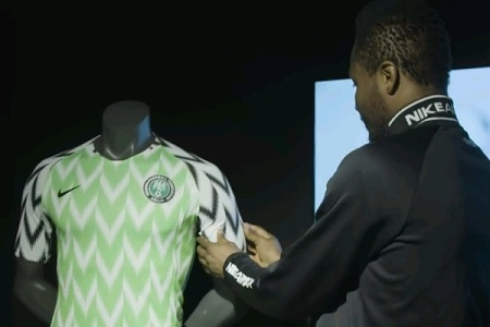 Photos of New Super Eagles Russia 2019 Jersey
