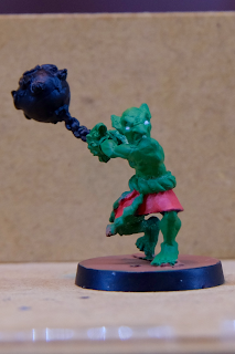 Goblin with a ball and chain