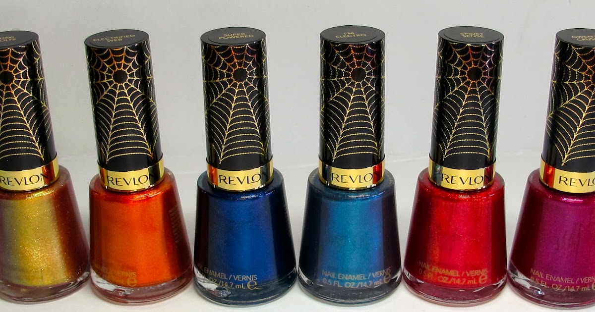 Spider-Man By Revlon Nail Polish – What They Are And Where To Buy