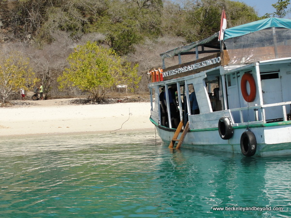 Angel Beach near Komodo Island in Indonesia