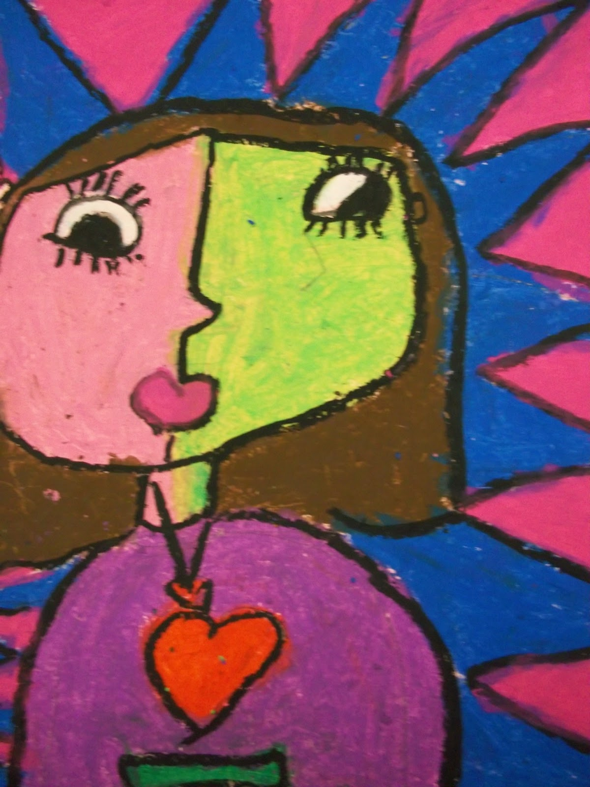 Art Kids of Benavidez Elementary: Self-Portraits - Picasso ...