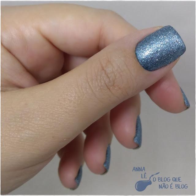 Sand Blue Star Vie Esmalte Nailpolish Liquid Sand Azul