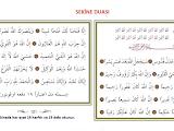 Sekine Duası ve Fazileti ve Türkçe Okunuşu