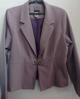 blazer rosé Hanani tamanho 46