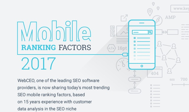 Mobile Ranking Factors 2017
