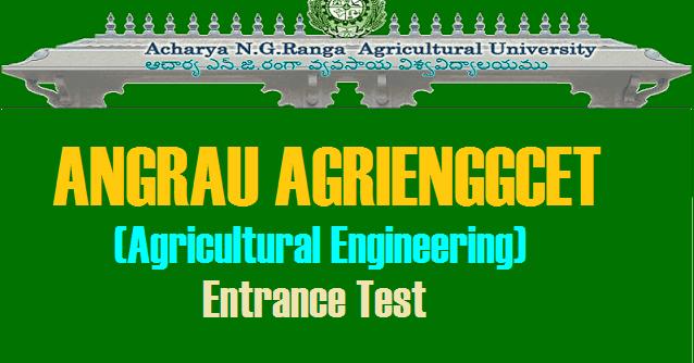 AGRIENGGCET 2018| Acharya N.G.Ranga Agricultural ...