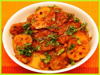 Lotus Root Fry Recipe