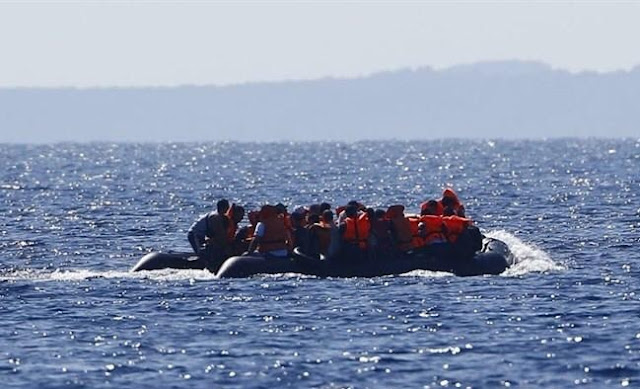 Albanian Armed Forces escape 84 immigrants from drowning on Aegean Sea