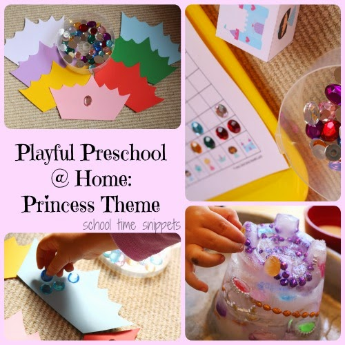 Preschool Princess Themed Activities