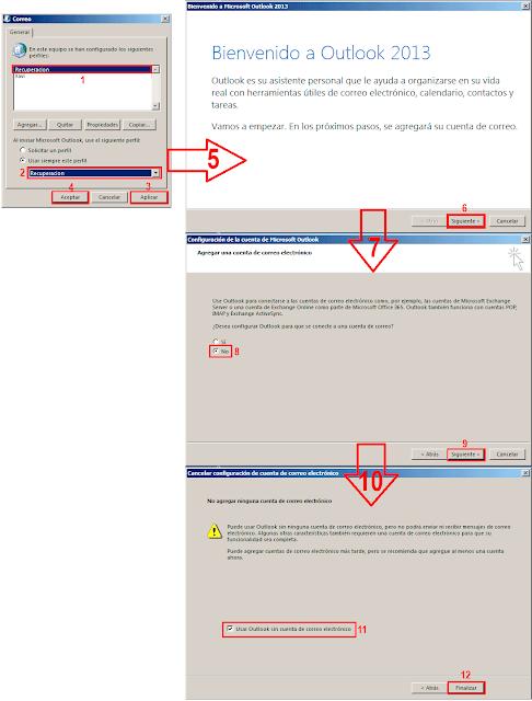 Puede usar Outlook sin ninguna cuenta de  correo electrónico, pero no podrá enviar ni recibir mensajes de correo electrónico. Algunas otras características también requieren una  cuenta de correo electrónico para que su funcionalidad sea completa.