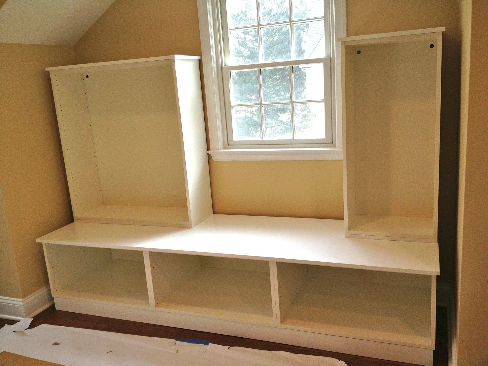 Diy Playroom Built Ins From Ikea Cabinets Jaime Costiglio