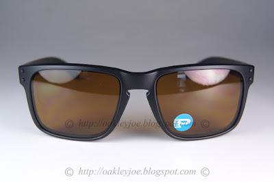 Oakley holbrook sunglasses bronze polarized lenses matte black frame