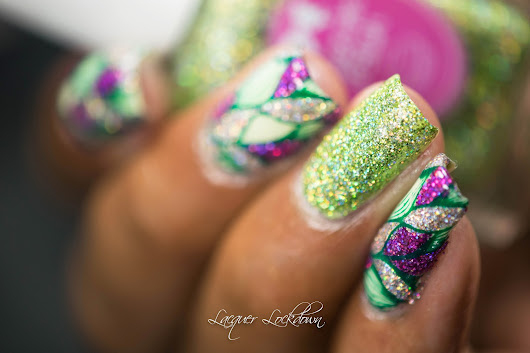 Super Holo Spring Abstract + Tutorial!