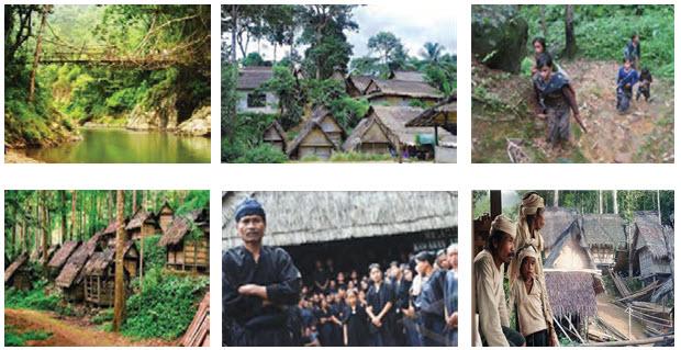Masyarakat Badui dari Indonesia