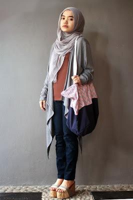 hijab syar'i kampus tutorial hijab kampus simple