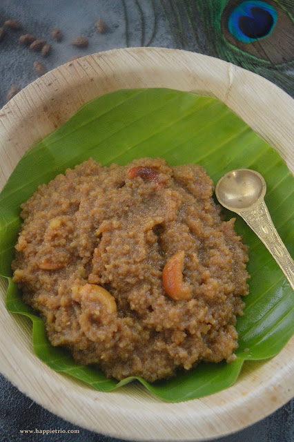 Wheat Rava Sweet Pongal | Godhumai Rava Sarkarai Pongal |Dalia Sweet Pongal