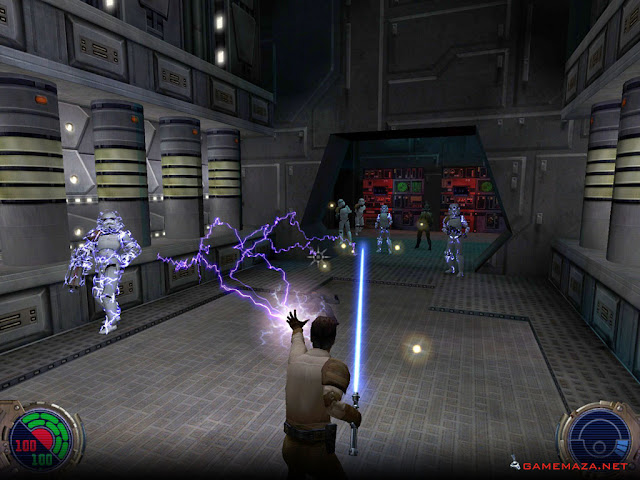 Star Wars Jedi Knight II Jedi Outcast Gameplay Screenshot 1