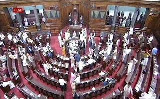 new-delhi-rajya-sabha-common-budget-discussion-telugu-desam-party-andhra-pradesh-house-adjourned