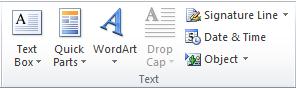 fungsi dari menu insert di microsoft word
