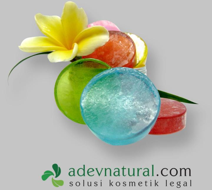 Sabun Transparan ADEV Natural
