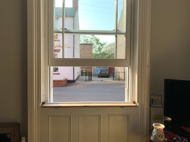 uPVC Sash Window in Action
