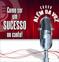 Curso de Canto Online Além da Voz com Vocal Profissional