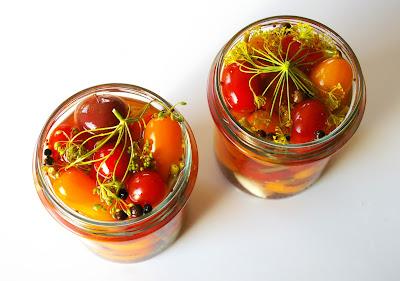 pomidorki cherry w zalewie octowej