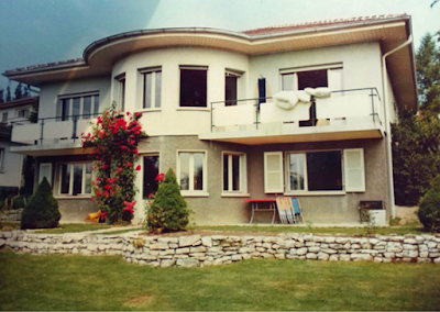 La casa della famiglia Scherrer che mi ha ospitato a Friburgo, in Svizzera