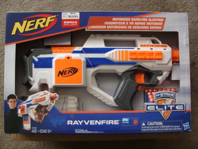 nerfarium nerf rayvenfire return