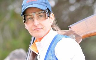 Fátima Gálvez diploma en Tiro deportivo foso Río 2016