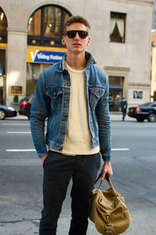 How To Style A Denim Jacket Prestige The Man Store