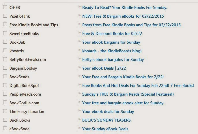 advertising for free and special offer e-books