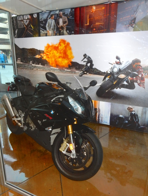 Mission Impossible Rogue Nation BMW S1000 RR motorbike