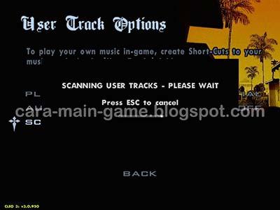 Scan File Musik Radio GTA San Andreas