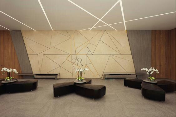 Modern Wall Panels Are Decorate Wall to Make Vertical Surface ...