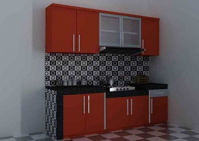 ini cara membuat kitchen set sederhana sendiri