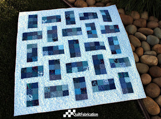Aunt Bea in Blue quilt