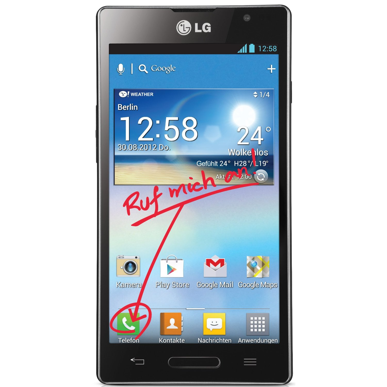 Lg L9 Libre Lg Optimus L9 P760 Android 4 7 Quot Gama Media 239