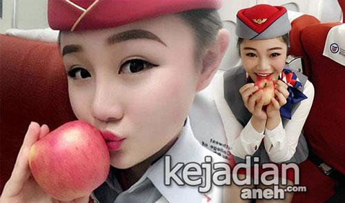Apel Ciuman Pramugari Dijual Situs Taobao