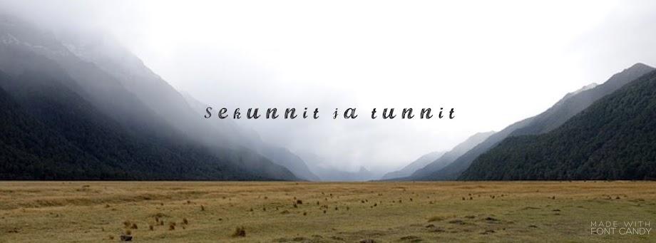 Sekunnit Ja Tunnit