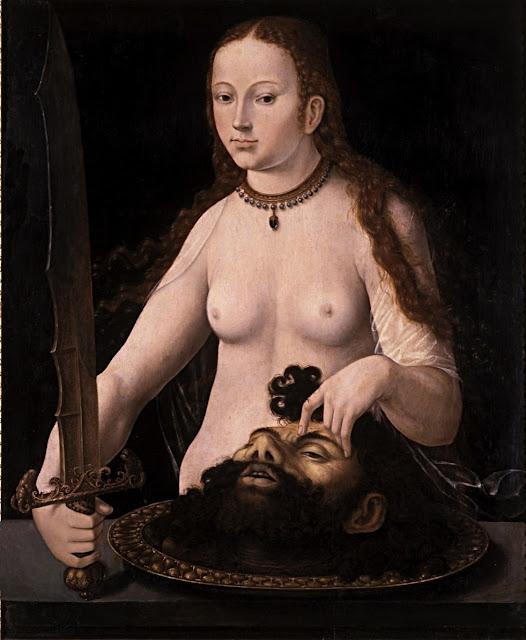 Artista ignoto: Giuditta con la testa di Oloferne