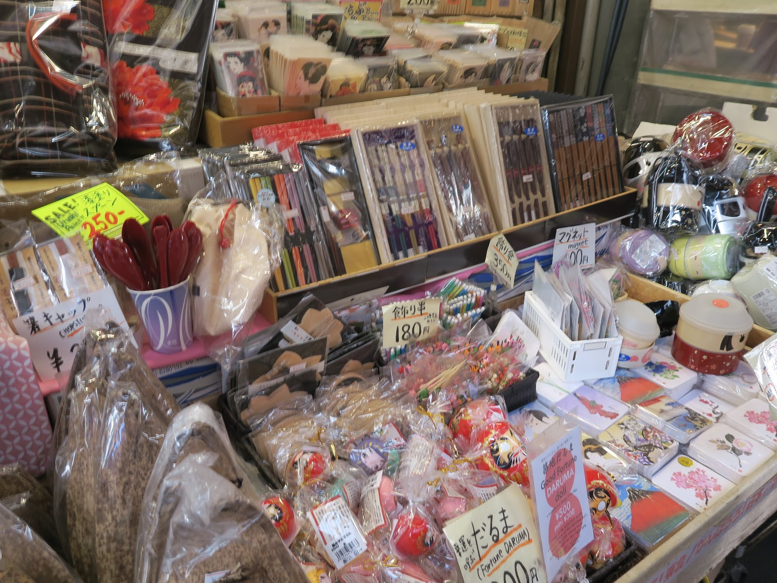gifts chopsticks toys presents tokyo japan