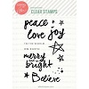 Essentials by Ellen Brushstroke Christmas stamp set