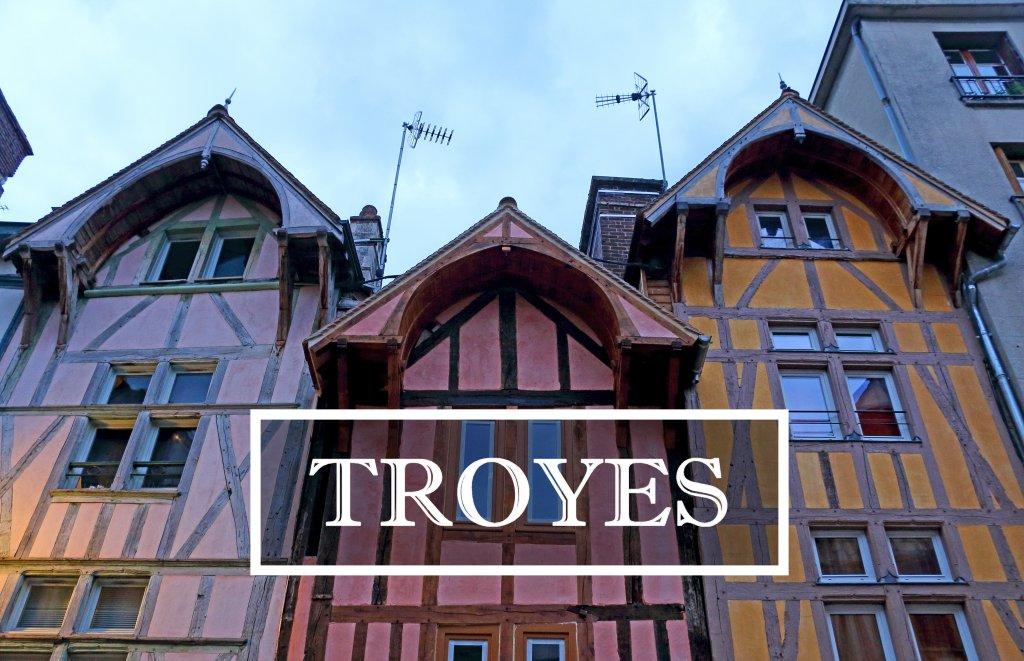 Troyes, la villa de los mil colores